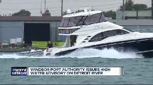 Detroit River is a 'speedway' and too dangerous for swimming, report says [Video]