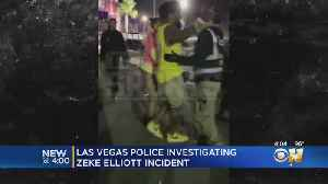 Ezekiel Elliott Being Investigated By Las Vegas Police Over Shoving Incident [Video]