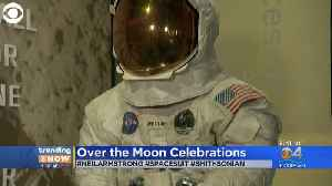 News video: Trending: Neil Armstrong's Suit On Display
