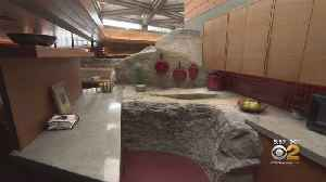 Living Large: Frank Lloyd Wright-Designed Home On A Private Island [Video]