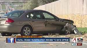 Fatal crash investigation moves to JoCo DA's office [Video]