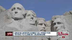 Omaha Woman Arrested for Climbing Mount Rushmore [Video]