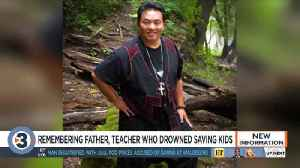 Father, Madison College teacher who drowned saving kids remembered as 'real hero to many' [Video]