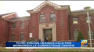 VIDEO: South Heidelberg holds third zoning hearing about Wernersville corrections center [Video]