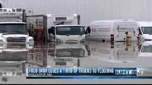 Food bank continues to recover from flood damage [Video]