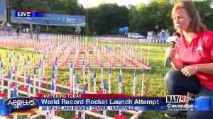 World Record Rocket Launch Attempt [Video]