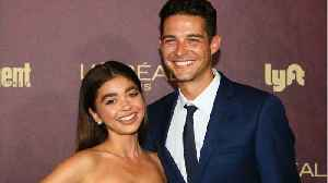 Sarah Hyland And Wells Adams Are Engaged [Video]