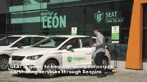 SEAT will roll out a corporate carsharing service in Madrid [Video]