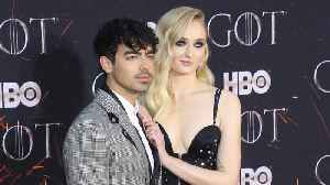 Joe Jonas celebrates new wife Sophie Turner's Emmy Award nod [Video]