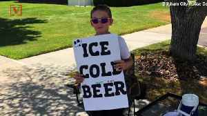 Utah Boy Selling 'ICE COLD BEER' Caught The Attention of Local Police [Video]