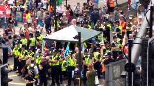 Police move in on Extinction Rebellion protesters blocking Bristol road [Video]