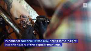 5 Facts About the History of Tattoos (National Tattoo Day) [Video]