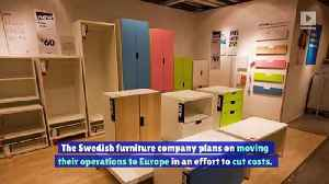 Ikea to Shut Down Its Only Furniture Factory in the US [Video]