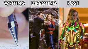 Everything it Takes to Make A Marvel Movie [Video]