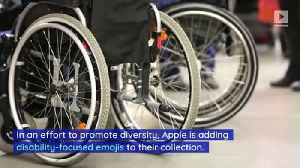 Apple Announces Disability-Themed Emojis [Video]
