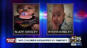 AMBER Alert issued for parents who took kids from Arizona DCS [Video]