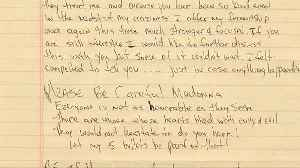 Madonna, Tupac breakup letter hits the auction block [Video]
