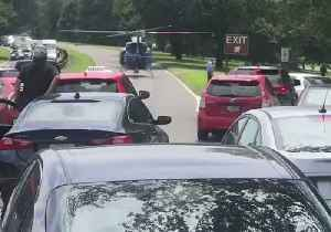 Park Police Helicopter Lands on George Washington Memorial Parkway [Video]
