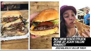 All New Food Truck Zone At Jean-Talon market [Video]