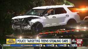 Police targeting teens stealing cars [Video]