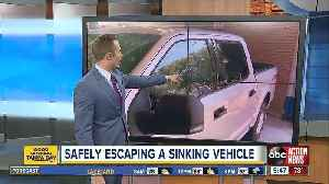 Vehicle escape tools effective in breaking most car windows [Video]