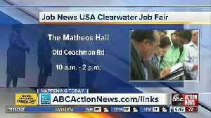 Hundreds of jobs available at Job Fair on Wednesday [Video]