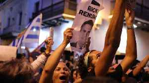 News video: Puerto Rico's Governor Says He Won't Resign Amid Protests