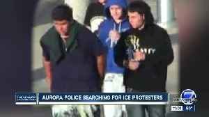 Aurora police ask for help ID'ing ICE protesters involved in flag desecration at detention center [Video]