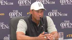 Tiger Woods likes Guiness in Northern Ireland, but didn't drink it this week (yet) [Video]