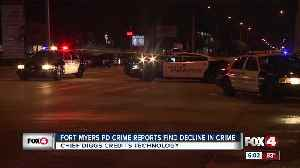 Fort Myers Police Department crime report finds decline in crime [Video]