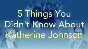 5 Things You Didn't Know About Katherine Johnson | Reaching for the Moon [Video]
