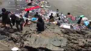 Two confirmed dead after building collapsed into river on first day of Buddhist Lent [Video]