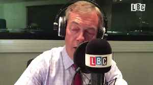 'When Will You Stop Lying' Nigel Farage Asks This Caller Over EU Army [Video]