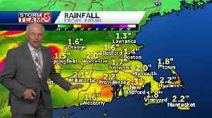 Video: Downpours may bring areas of flooding midweek [Video]