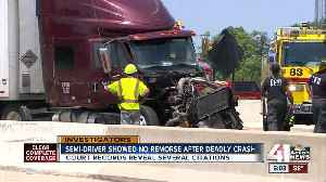 Truck company involved in fatal wreck has long history of driving infractions [Video]