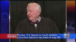 Former SCOTUS Justice John Paul Stevens Dead At 99 [Video]