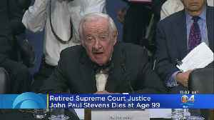 Former Supreme Court Justice John Paul Stevens Dies After Suffering Stroke [Video]