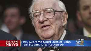 Former Supreme Court Justice John Paul Stevens Dies At 99 [Video]