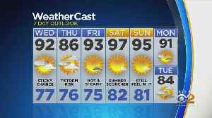 New York Weather: CBS2 7/16 Nightly Forecast at 11PM [Video]