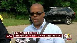 Nine-year-old dies after being pulled from Mill Creek [Video]