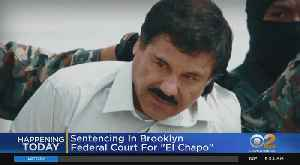 'El Chapo' Set For Sentencing [Video]