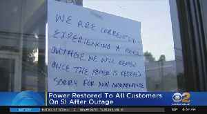 Power Restored After Staten Island Outage [Video]