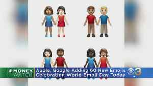 Apple Google Celebrate World Emoji Day With Sneak Peak Of New Emojis [Video]