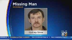 Police Searching For Missing Man In McDonald [Video]