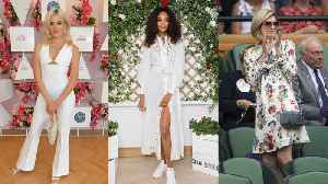 Best Fashion At Wimbledon 2019 [Video]