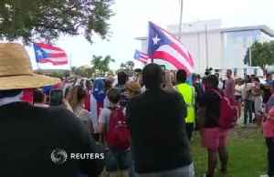 Orlando protesters call for Rossello's resignation [Video]