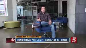 Nashville author writes 'The Ables,' a series about superheroes with disabilities [Video]