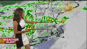 WBZ Mid-Morning Forecast For July 17, 2019 [Video]