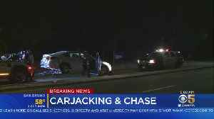 San Francisco Carjacking Ends With Pursuit, Crash In Oakland [Video]