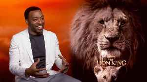 News video: 'The Lion King': Exclusive Interview With Chiwetel Ejiofor